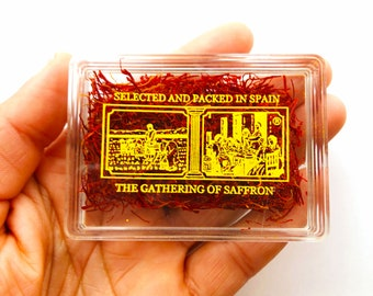 100% Pure Spanish Saffron - 2 Grams pack ( 64 servings)