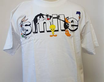 Vintage Looney Tunes Smile Shirt - New Old Stock