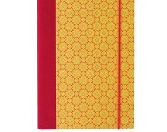 Binder A5-Ornament Yellow-orange