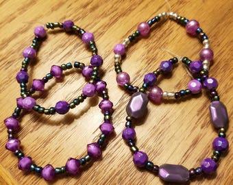Purple multi iridescent