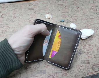 Simple cardholder, Mini card holder, Card holder, Leather cardholder, Minimalist cardholder, Cardholder, Slim cardholder