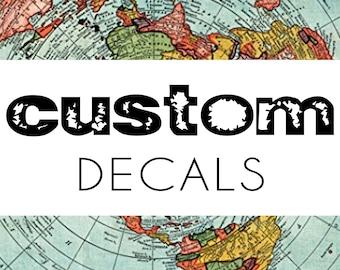 Custom Iron Decals