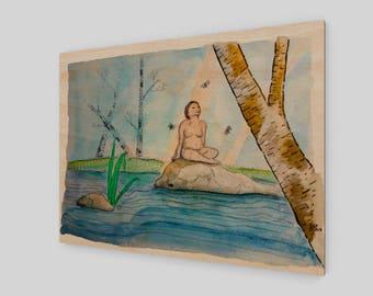 Inner Peace - Wood Print
