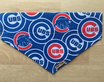Cubs dog bandana