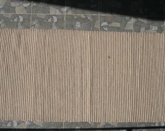 Unique wool carpet, hand woven, 85x171cm, Ascendis CAsA2