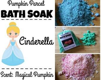 Cinderalla Bath Salts, Pumpkin Bath Salts, Bath Bomb, Bath Soak, Autumn Bath Salts, Fall Bath Salts, Princess Bath Salts, Relaxing Bath Salt