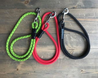 Traffic leash / Training leash / Short leash/ Climbing rope dog leash/ 0,3-0,6 m/1-2 ft