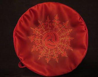 cover for shamanic, Native American, 40-42 cm diameter bodhran drum