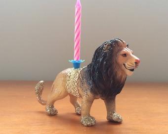 Lion animal candle