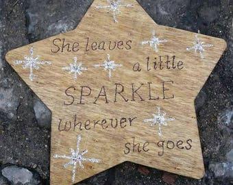 Sparkle Star Sign