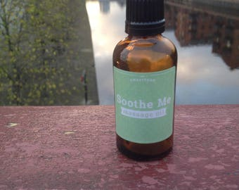 Soothe Me sports massage oil 50ml