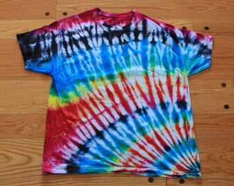 Muffin Top Tees Tie Dye Shirt- Men's XL