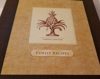 Hallmark Family Recipes cookbook