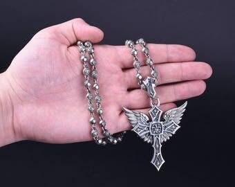 Royal Fleur De Lis Jewerly Set Unique Necklace Pendant Inspirational Gift