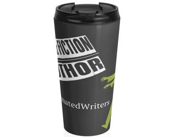 ReanimatedWriters Zombie Author Stainless Steel Travel Mug