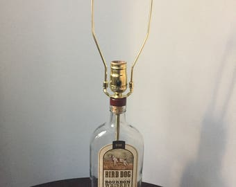 Bird Dog Bourbon Bottle Lamp