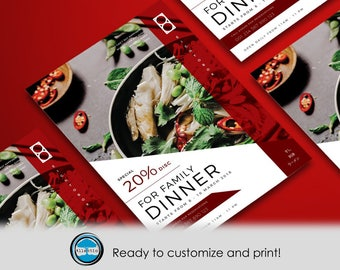 Restaurant Flyer template Ready to customize it!