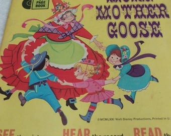 More Mother Goose 45 record