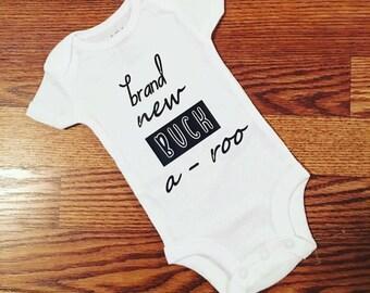 Brand new buckaroo shirt, Coming home outfit