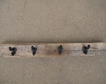 Driftwood Coat Rack, Hat Rack, Accessory Hanger