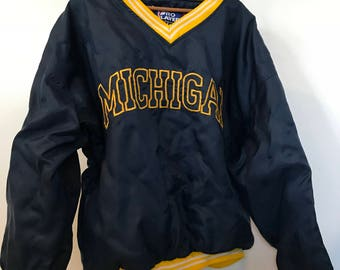 90s michigan jacket | Etsy
