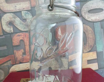 Vintage Ball Ideal Mason Jar