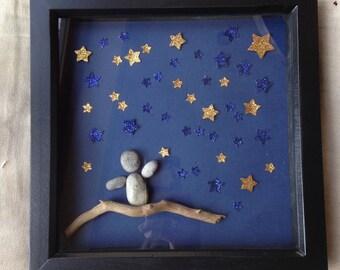 Reach for the Stars, Graduation Gift, New Job, Starting Uni, Pebble Art