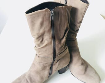 Vintage // Like-New // Brown Boots