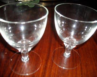 FINE CRYSTAL ( LISA)pattern  wine glasses set of 10