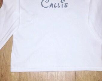 Personalised / customised long sleeve top
