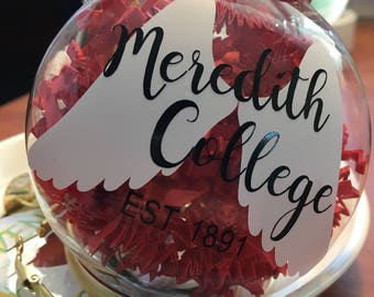Meredith College EST. 1891 Ornament