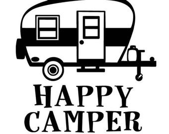Happy Camper Vintage