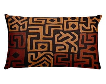African Tribal Rectangular Pillow