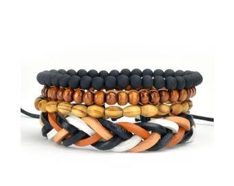 4 Pack Modest Bracelet Set