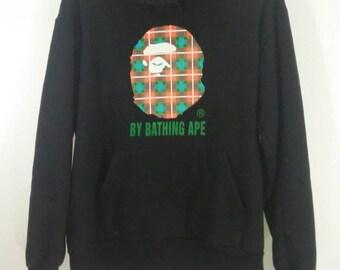 Bathing Ape Monogram  hoodie Bape Sweatshirt