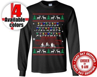 Stranger Things Shirt, Stranger Things Christmas Sweater T-Shirt. Mouth Breather Shirt, Hawkins Shirt, Stranger Things Will Shirt.