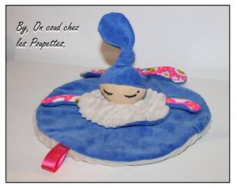 Plush Royal blue baby girl version