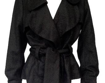 Short wrap jacket