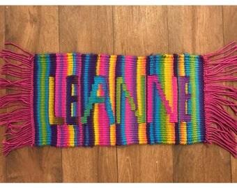 Custom Name Tapestry