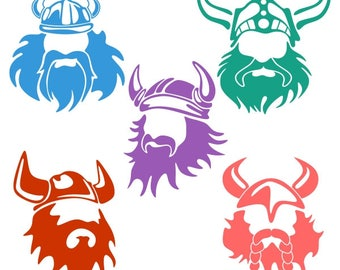 Viking Cuttable Design PNG DXF SVG & eps File Silhouette Designs Cameo