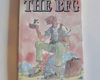 The BFG by Roald Dahl First Edition 1st Impression 1982