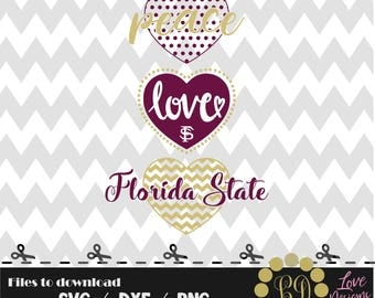 Love florida state svg,png,dxf,cricut,silhouette,college,jersey,shirt,proud,birthday,invitation,disney,cut,university,football,basketball