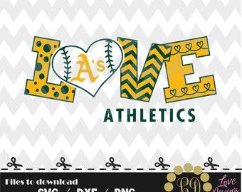 Oarkland athletics baseball svg,png,dxf,cricut,silhouette,jersey,shirt,proud,birthday,invitation,sports,cut,girl,love,softball,2018new,decal