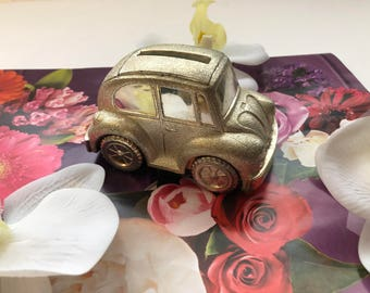 Volkswagen Bug Coin Bank.
