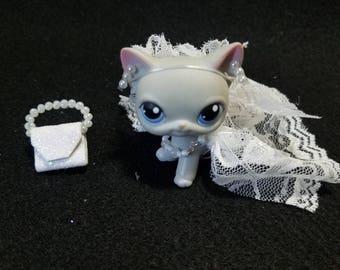 Littlest pet shop clothes and accessories wedding dress