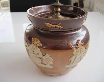 Royal Doulton Tobacco Jar c. 1897 – 1902