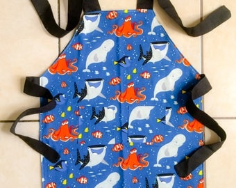 Finding Dory double sided child apron