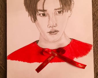 Taeyong NCT 127 drawing