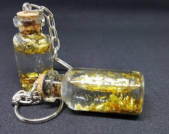 Glitter keychain
