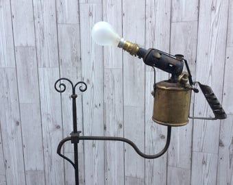 Vintage Industrial / Steampunk Style floor lamp